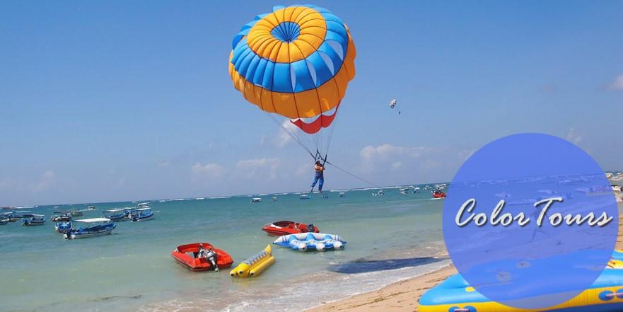 Пляжи Бали для развлечений