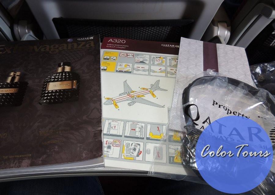 Qatar Airways на борту