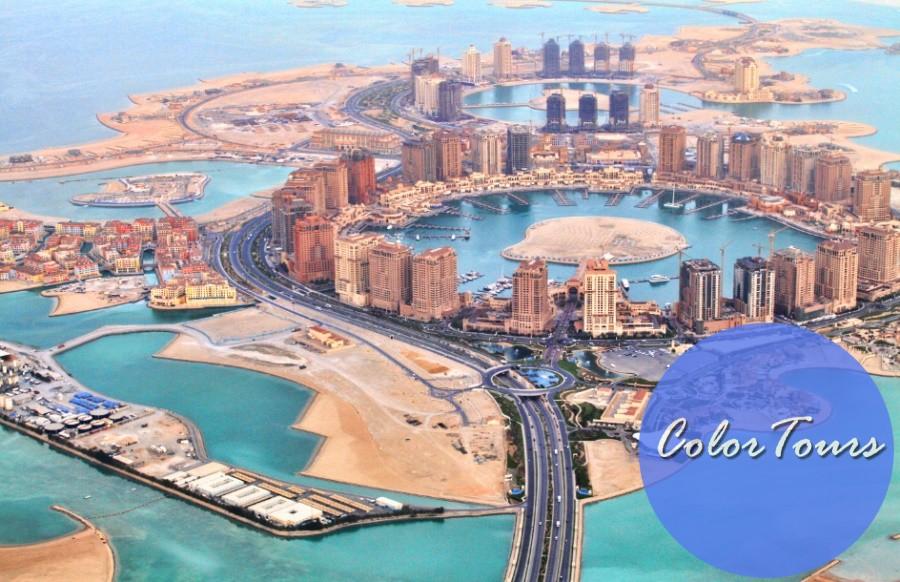 Искусственные острова в Дохе