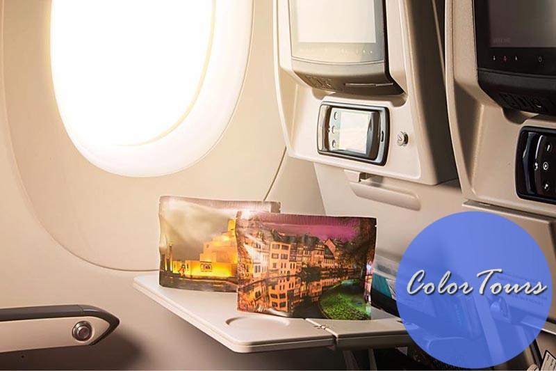 Qatar Airways подарки в полёте