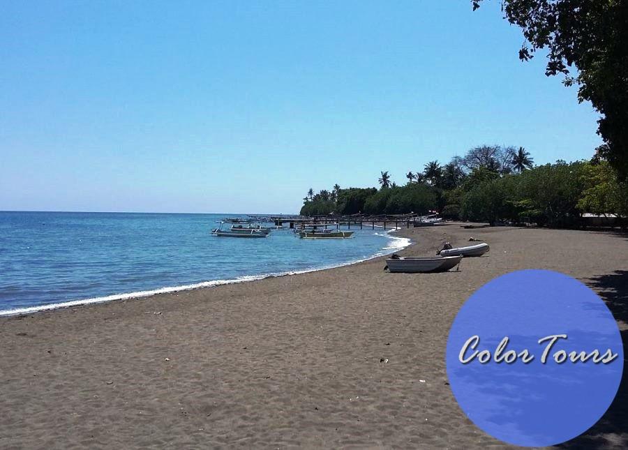 Пляжи с чёрным песком на Бали