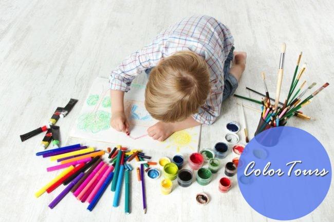 Рисуем дома с детьми