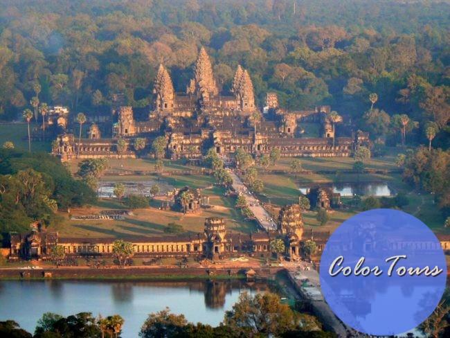 онлайн экскурсия по Камбодже