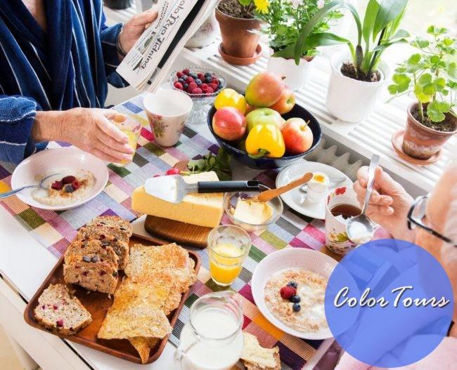 Завтрак туриста в разных странах
