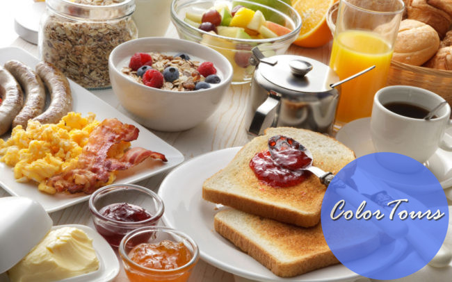 Завтраки разных стран