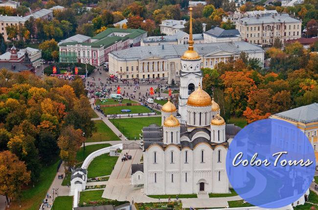 главные достопримечательности города Владимира