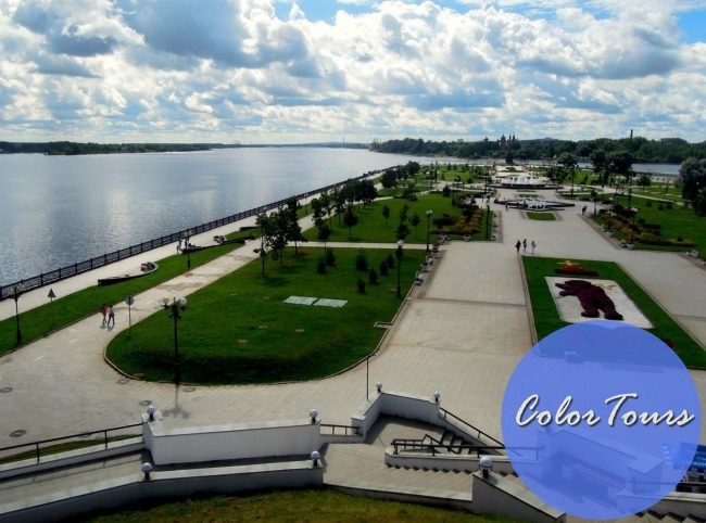 парк Стрелка Ярославль