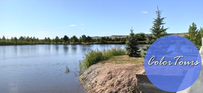 Озеро в парке Луна